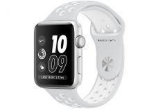 Apple Watch Nike+ 42 мм, корпус из серебристого ал…