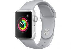Apple Watch Series 3, 38 мм, корпус из серебристог…