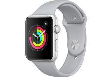 Apple Watch Series 3, 42 мм, корпус из серебристог…
