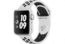 Apple Watch Nike+ Series 3, 38 мм, корпус из сереб…