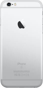 Apple iPhone 6s 128 ГБ Серебристый Задняя крышка