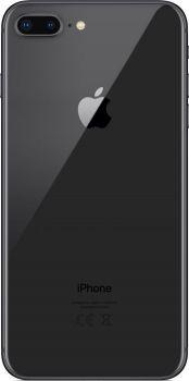 iPhone 8 Plus 256 ГБ Серый космос задняя крышка