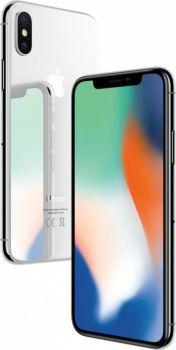 iPhone X 64 ГБ Серебристый задняя крышка и дисплей