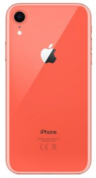 iPhone XR 64 ГБ коралловый задняя крышка