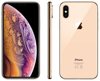 iPhone XS 64 ГБ золотой задняя крышка ободок и дисплей