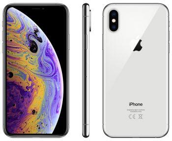 Apple iPhone XS 64 ГБ серебристый задняя крышка ободок и дисплей