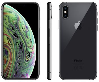iPhone XS 512 ГБ «серый космос» задняя крышка ободок и дисплей