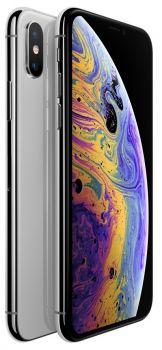 iPhone XS Max 64 ГБ серебристый задняя крышка с камерой и дисплей
