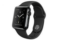 Apple Watch 38 мм, черный космос, черный спортивны…